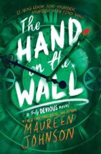 the hand on the wall cover