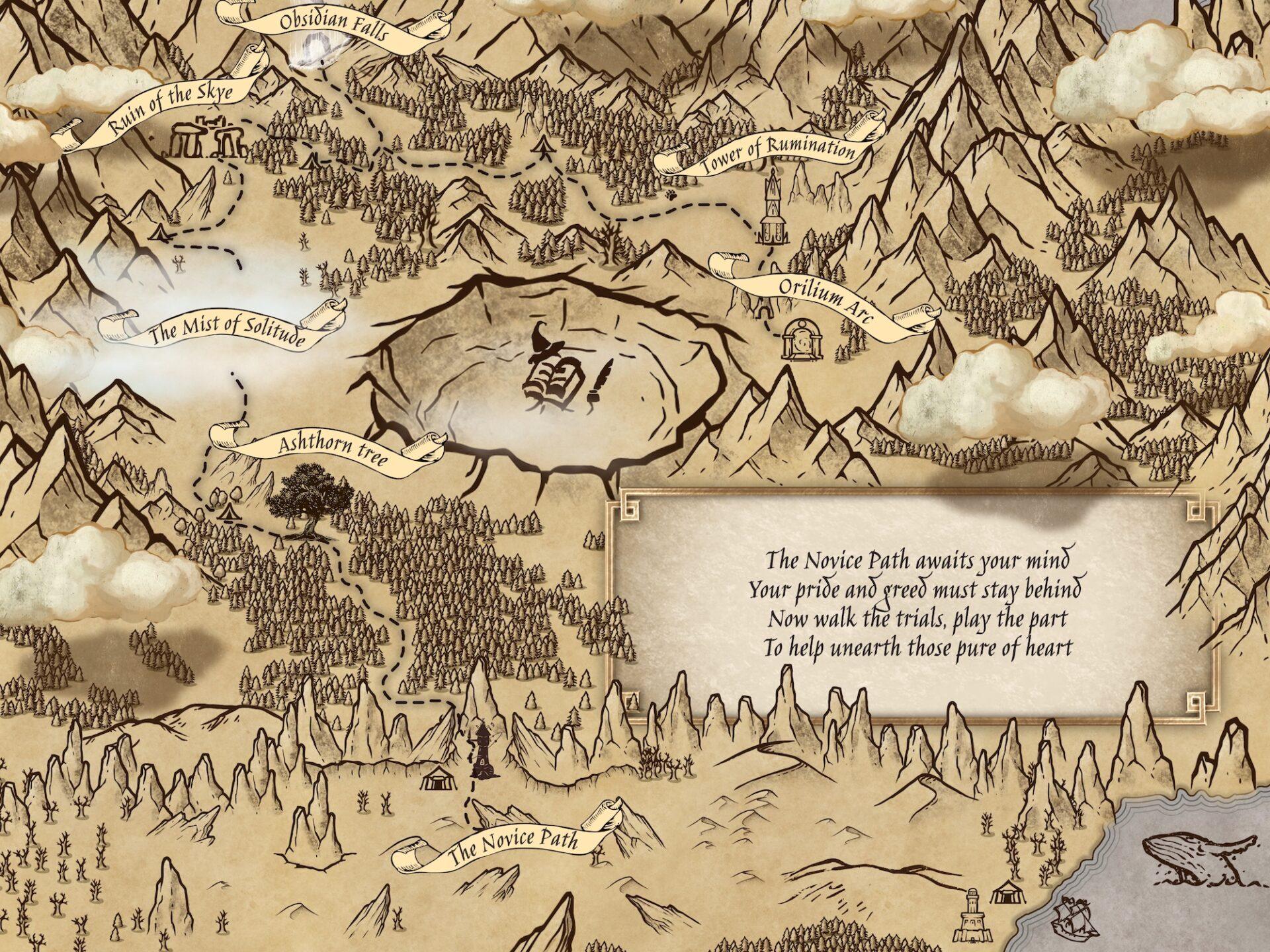 the novice path map